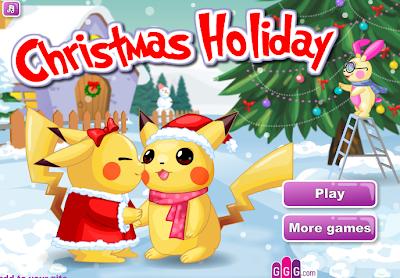 العاب بنات,لعبة عطلة الميلاد Christmas Holiday