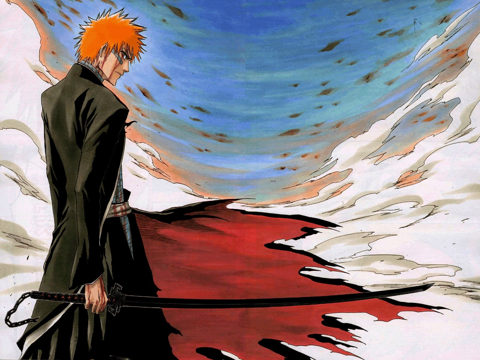 The Final Bleach Fantasy Round Ichigo Kurosaki Vs Cloud Strife The Kck World Wielding De