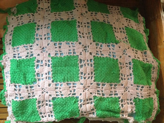 My Mom's High-school Crochet Projects