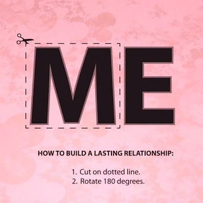 How To Build A Lasting Relationship - Cut On Dotted Line - Rotate 180 Degrees