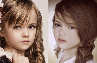 kristina pimenova, gadis kecil tercantik di dunia
