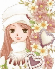 Free Downloading Sony Ericsson W800i Mobile Wallpapers Cute Lovely For On Mobiles Lovly Cartoon