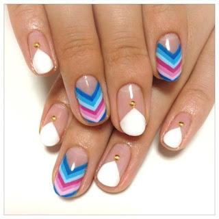 Hermosas uñas decoradas