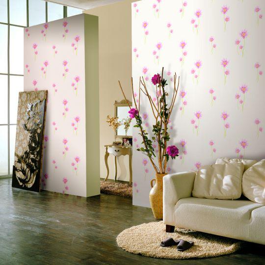 Tuyển chọn 10 mẫu phòng khách sử dụng giấy dán tường phong cách mới