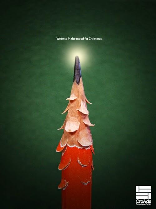 Publicidad creativa, navidad, CreAds