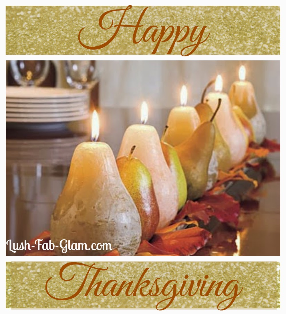 Happy Thanksgiving! We are thankful for our amazing fans & loyal readers!