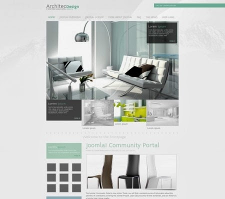 JF Architec Design – Architect Joomla Template