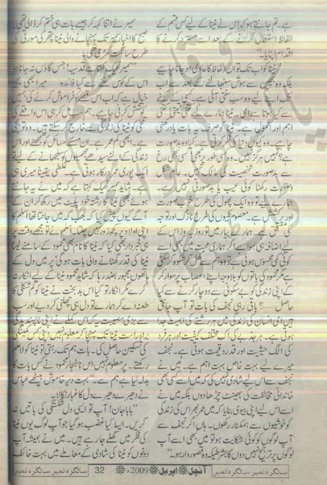 Mohabbat jhuk nahi sakti novel by sayeda gul bano for Syeda gul bano novels