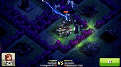 Clash of Clans Update! Night Mode