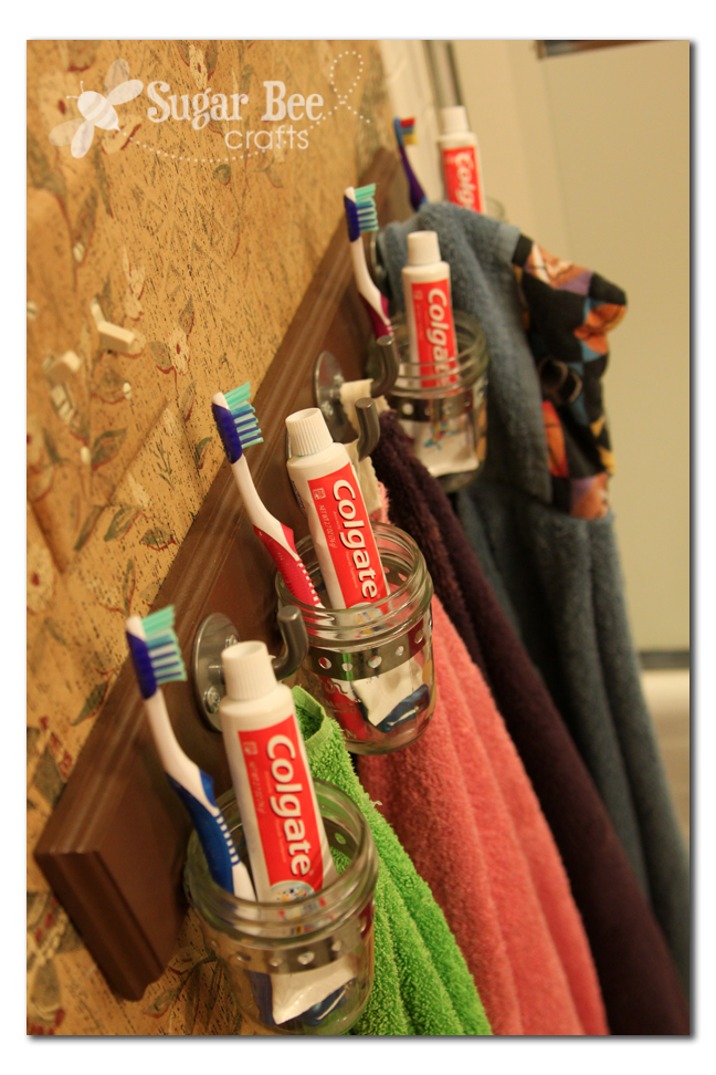 Bathroom Hook Organization