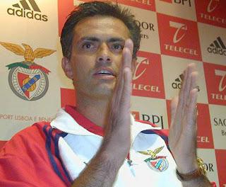 José Mourinho, Sport Lisboa e Benfica