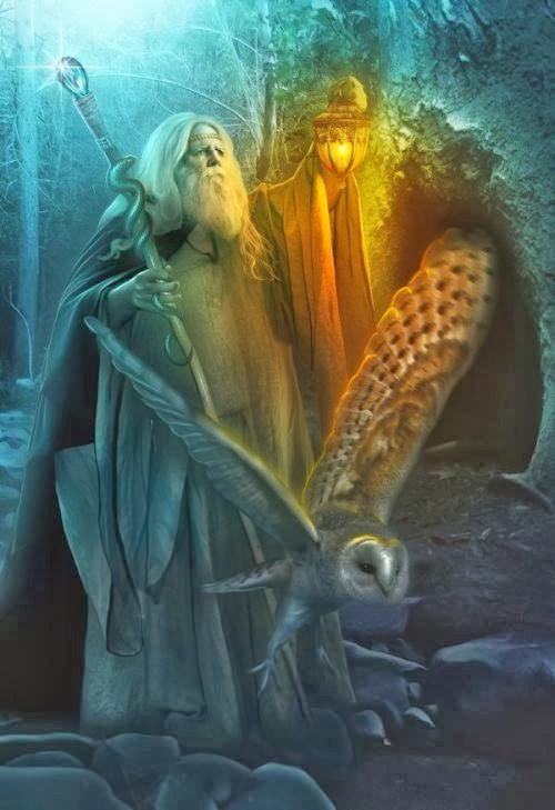 Lilia Osipova deviantart manipulação digital photoshop ilustrações fantasia surreal psicodelia O mago