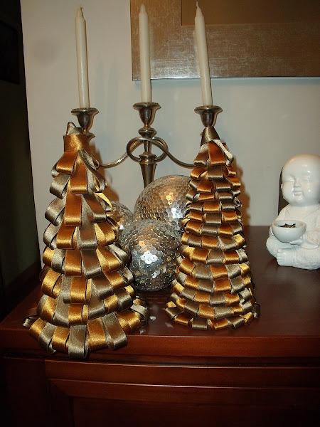 Lazos para el arbol de navidad aprender manualidades es - Lazos para arbol de navidad ...