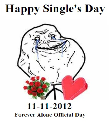 happy single day 2012