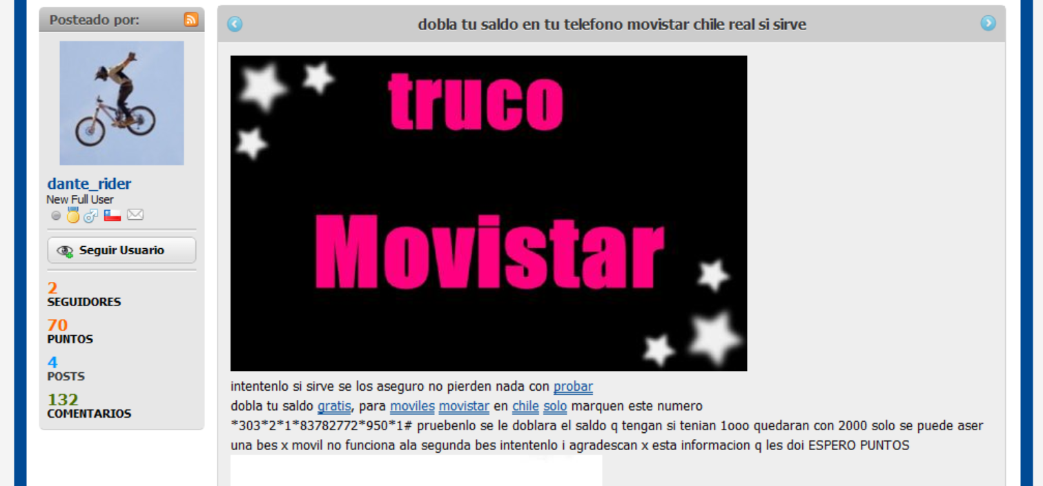¡Cuidado con esta ESTAFA con los celulares Movistar!