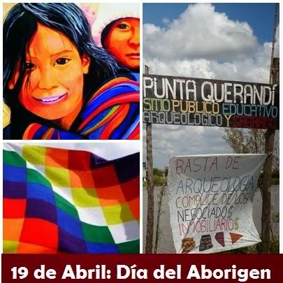 De Abril Dia Del Aborigen Americano