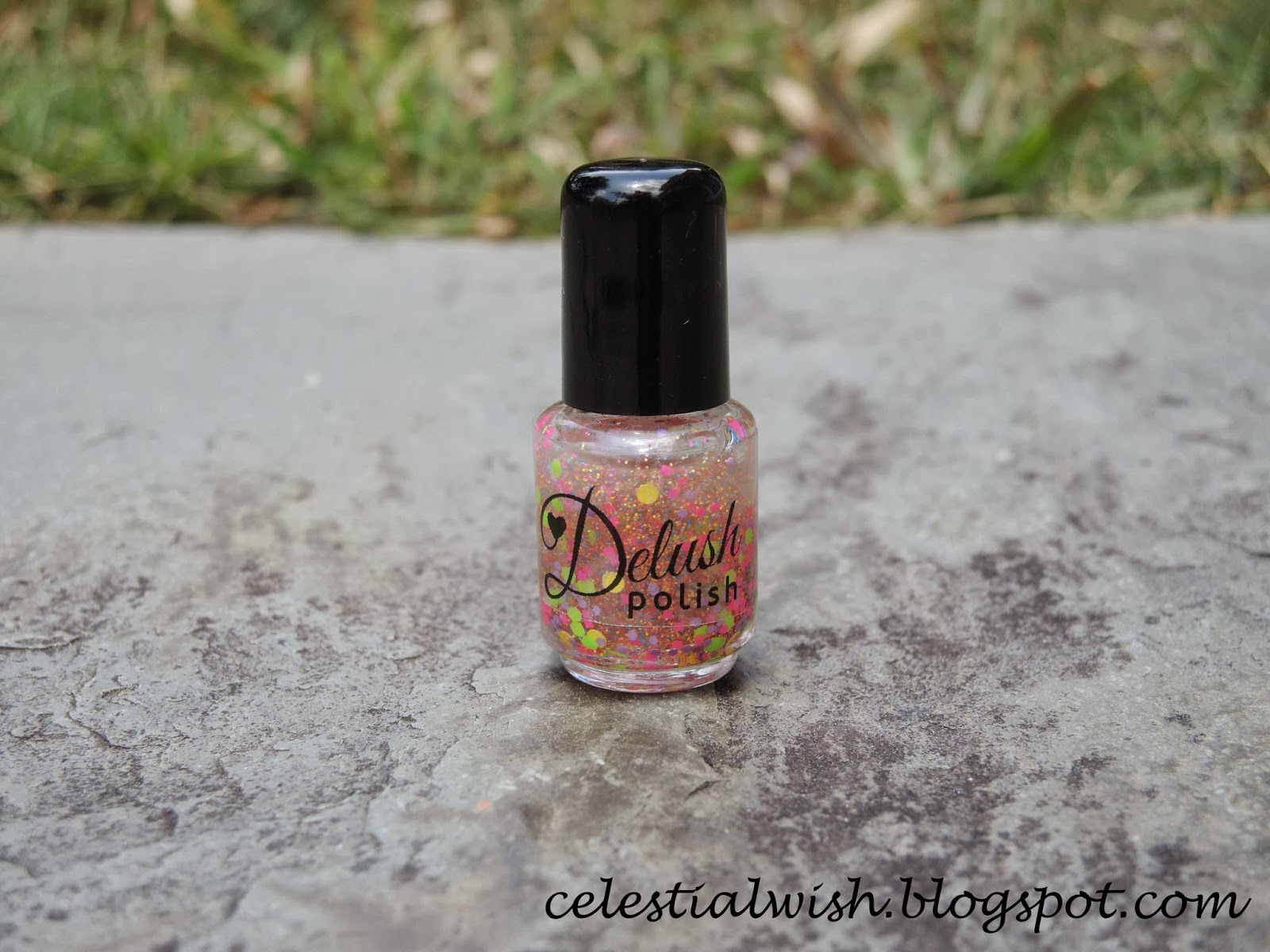 Bottle shot of Delush Polish's Star Gazer