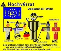 Strafanzeige gegen Merkel wegen Hochverrat