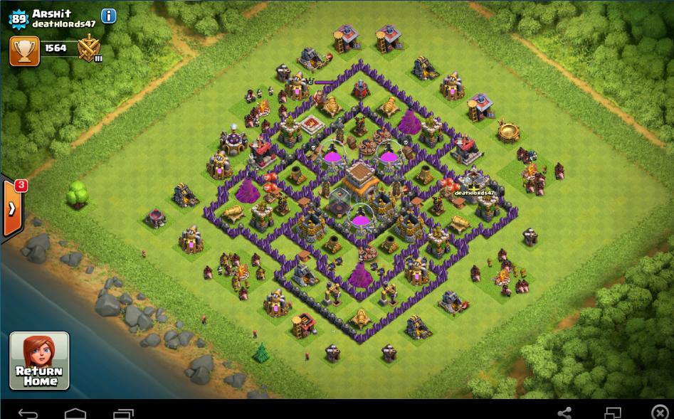 Best loot protective town hall 8 layout designs december 2016 update