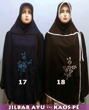 Jilbab Jumbo Murah Bahan Kaos PE