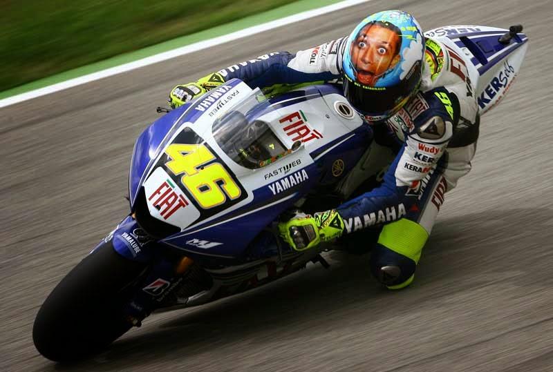 Motorcycle GP Valentino Rossi