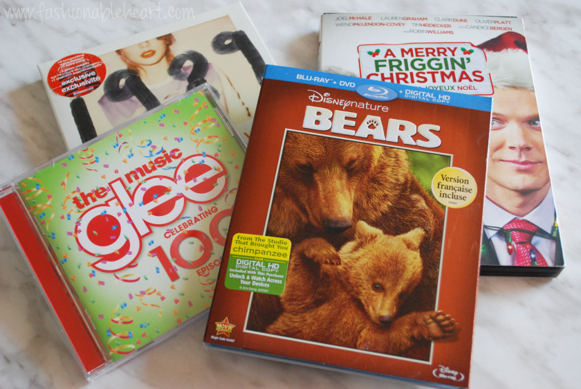 target clearance canada haul dvd bluray cd glee taylor swift disney