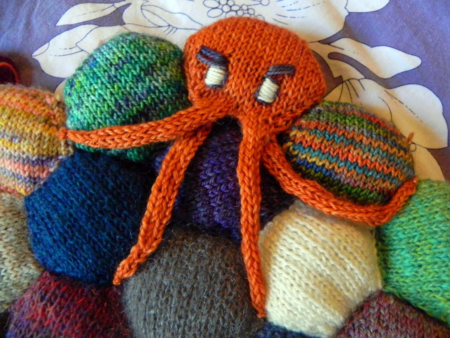Fibrously Tutorial Octopus Hexipuff