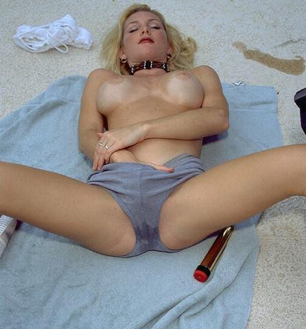 Wet Pantie Masturbation 24