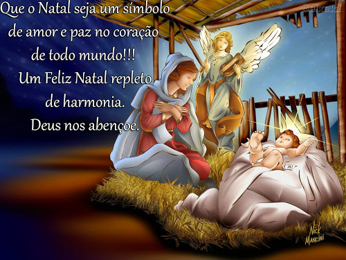 Natal é tempo de Paz de Amor de União!!!
