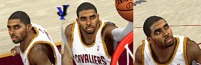 NBA 2K13 PC Mods Kyrie Irving Face Patch