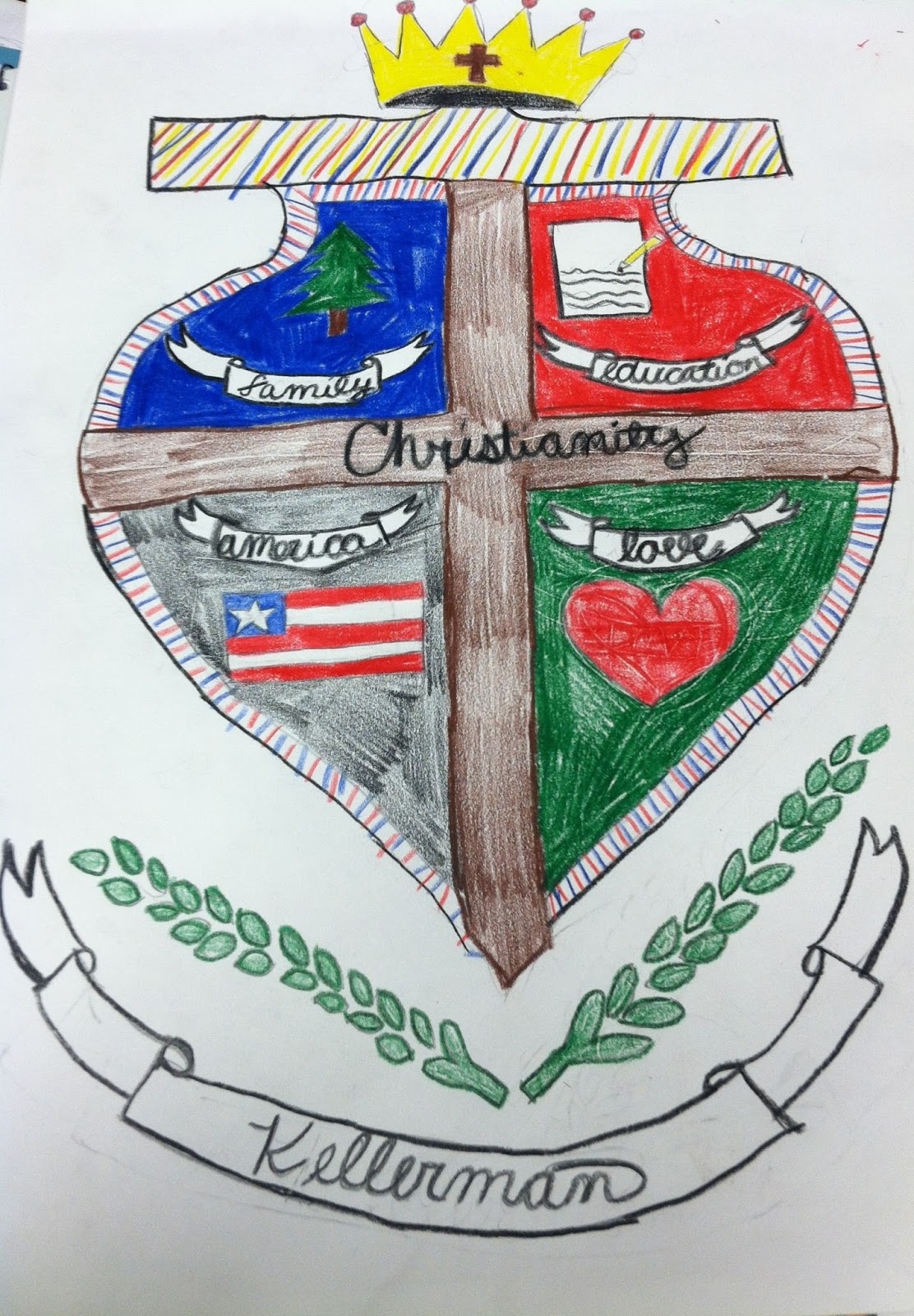 create a coat of arms assignment