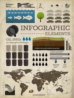古い台紙のインフォグラフィックス デザイン business infographics elements イラスト素材