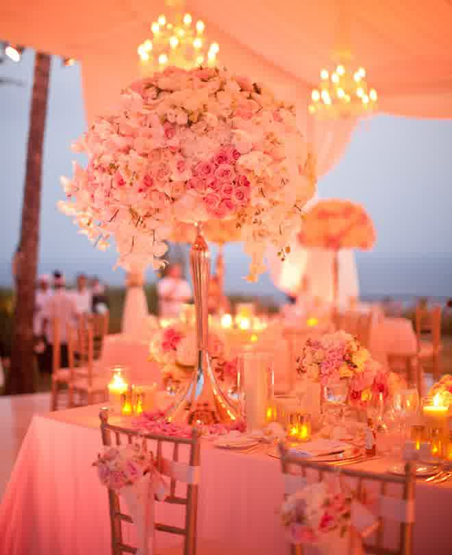 Stealing Flowers For Your Wedding Table Centerpieces Bridal And