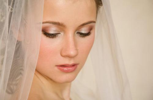 Natural wedding eye makeup
