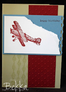 Stampin' Up! Plane and Simple