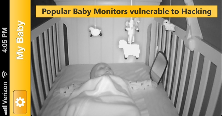 Hackers Can Easily Hijack Popular Baby Monitors to Watch Your Kids