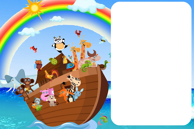Noahs Ark Invitations as Inspirational Design To Make Beautiful Invitations Template