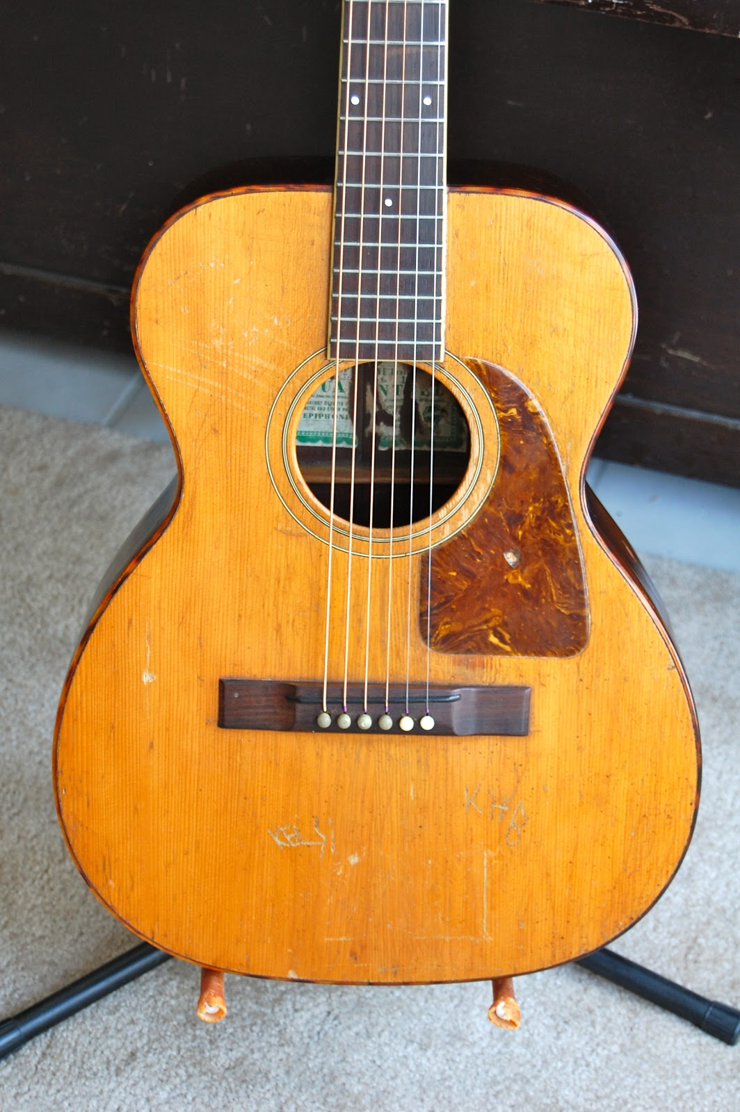 Galasso Guitars: Pre-war Epiphone Flat-top: 1940 Epiphone ...