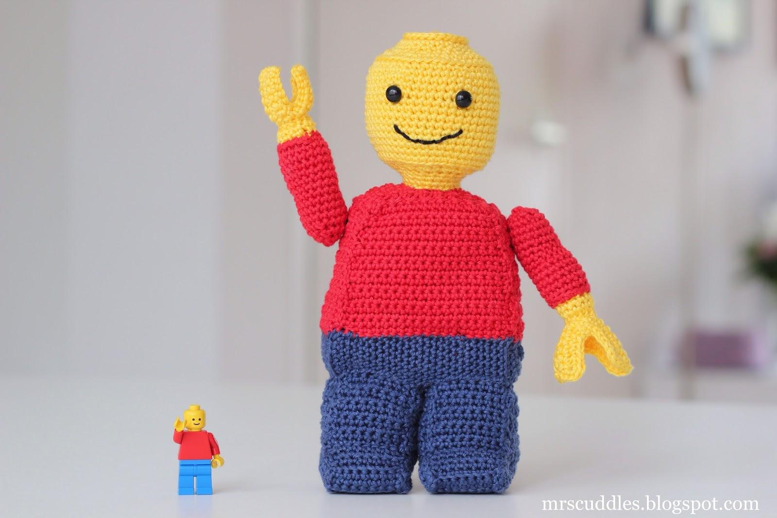Mrs cuddles lego man - Maken van zijn boekenkast ...