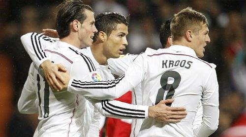 """Real & Ronaldo: Chinh phục những """"siêu"""" kỷ lục"""