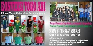 seragam sekolah komplit Pasuruan, Ponorogo, Probolinggo, Sampang, Sidoarjo, Situbondo, Sumenep, Trenggalek
