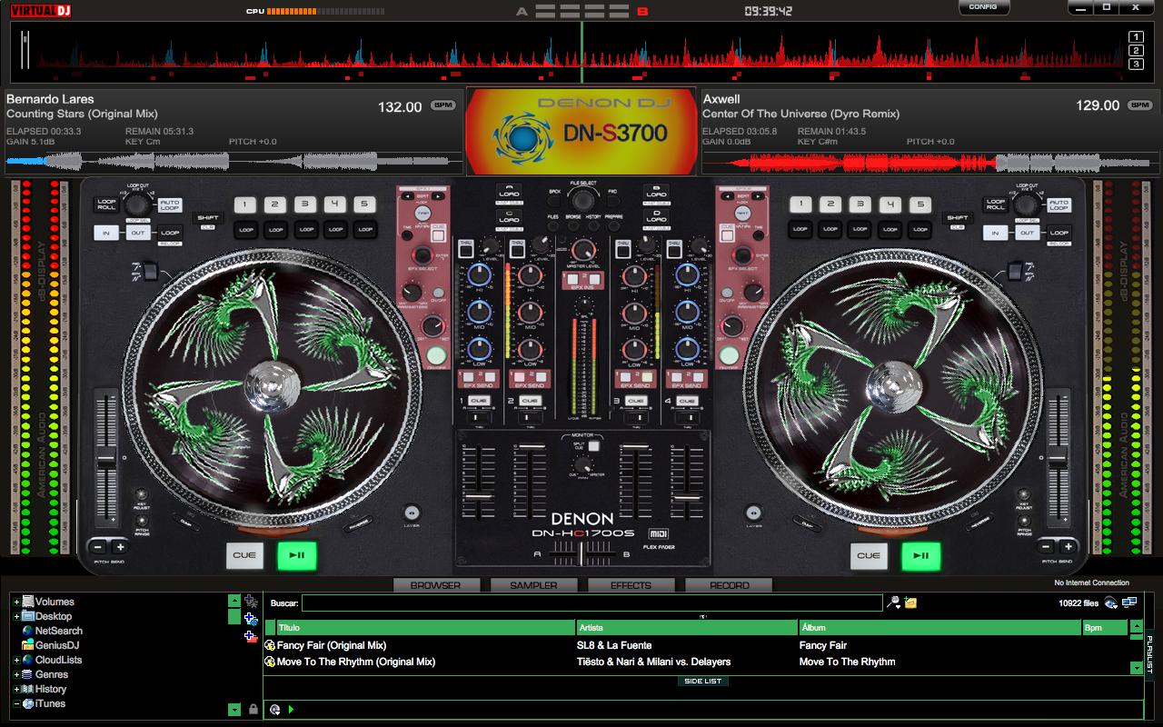Virtual-DJ-7-Skin-Denon-DN-S3700-DN-HC1700S-ProVirtual Dj Skins Denon