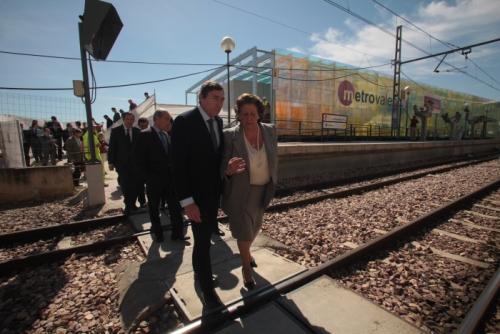 Flores: 'La Línea 1 empezará a circular por el soterramiento de Benimàmet antes de verano'