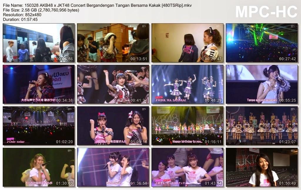 Download JKT48 X AKB48 2015 bergandengan tangan dengan kakak