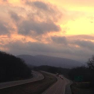 turnpike, interstate, i-80, bridge, sky, west, overlook, pa, pennsylvania