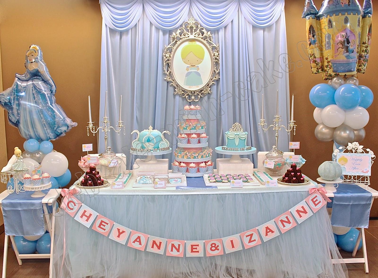 Celebrate with cake cinderella dessert table click post for La table a dessert
