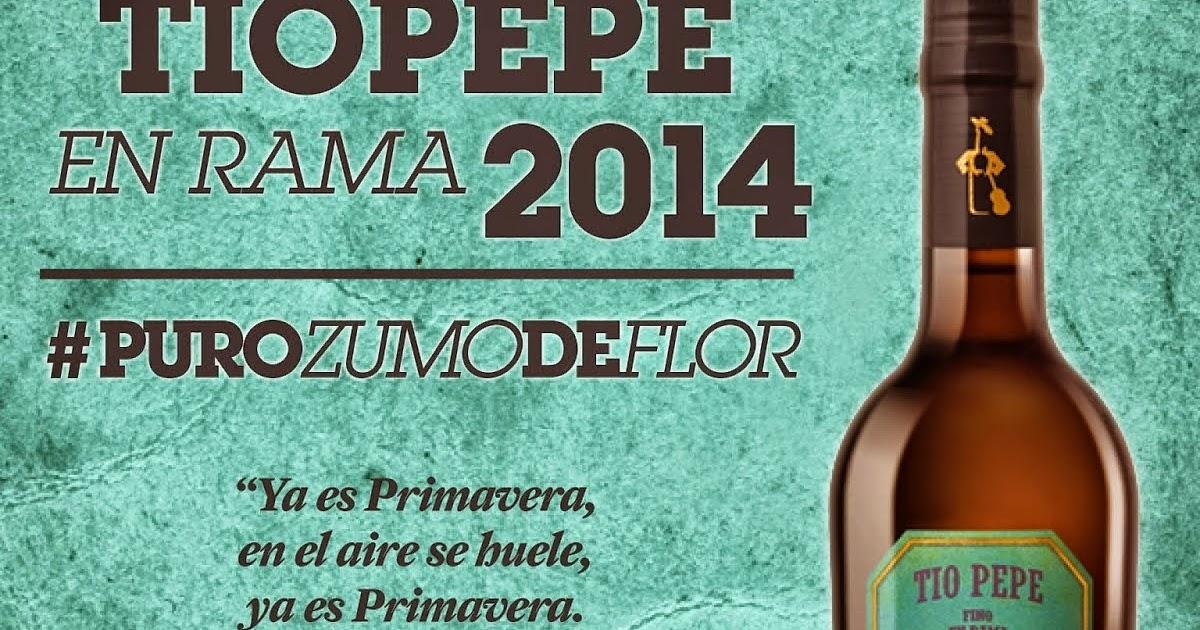 Jerez xeres sherry tio pepe en rama 2014 15 gonzalez byass for Cartel tio pepe
