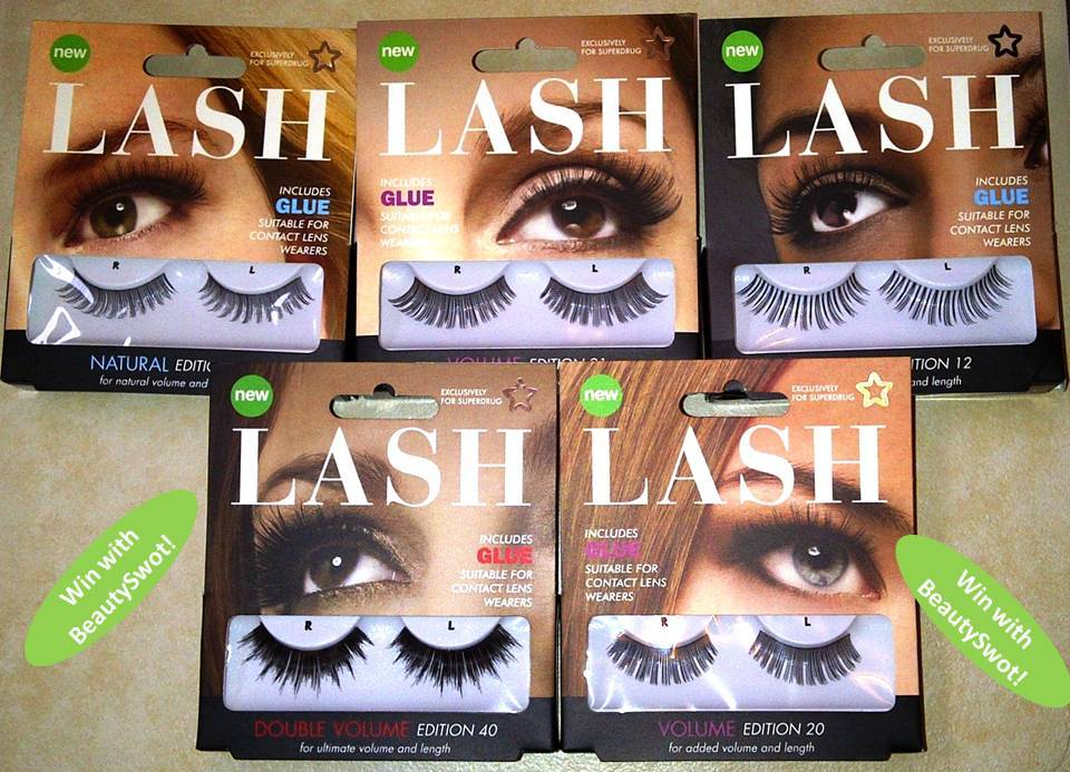 Beautyswot Now Closed Giveaway Win A Collection Of False Lashes