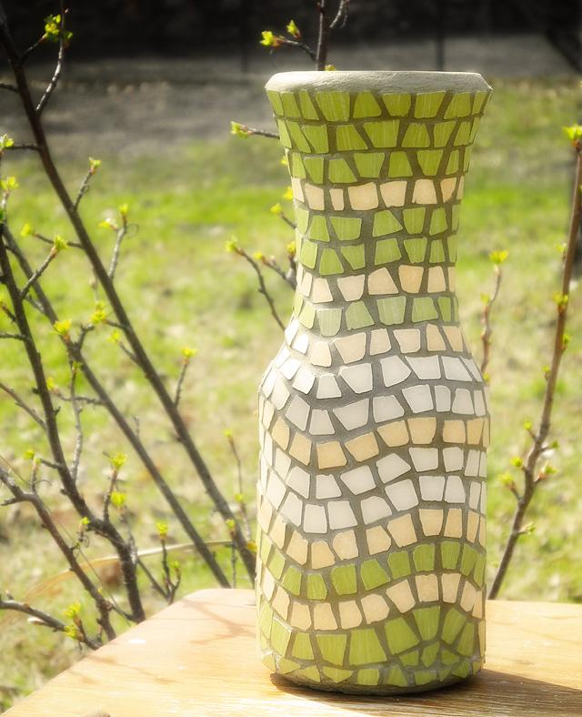 Wazonik - mozaika ceramiczna