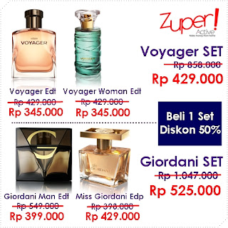 Parfum Wangi Pria Oriflame November 2015 - Voyager Set atau Giordani Set COUPLE
